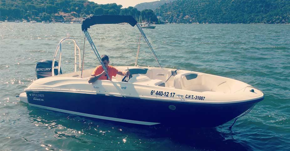 Alquiler barco en pantano de san juan