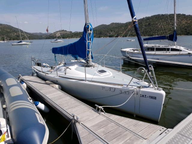 alquiler velero en madrid