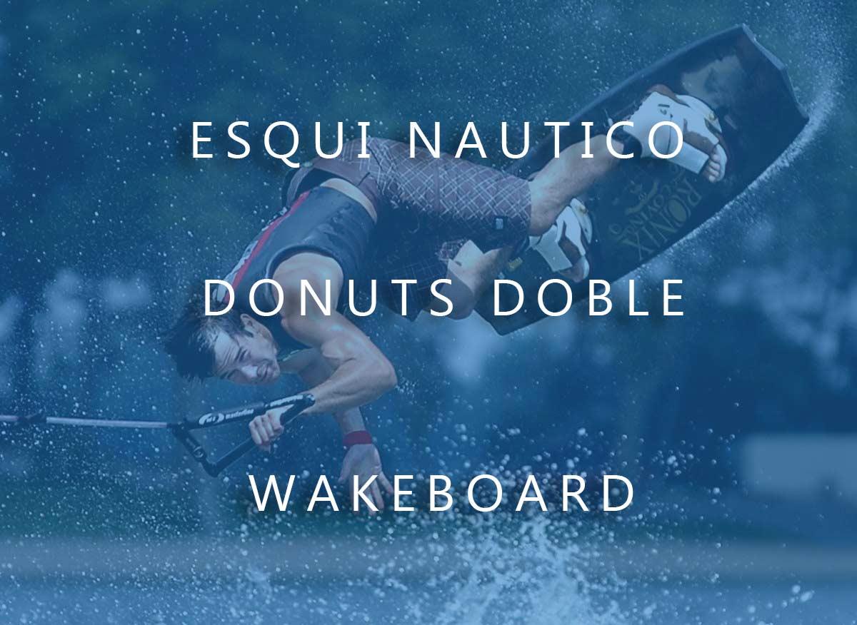 wakeboard en madrid en pantano de san juan